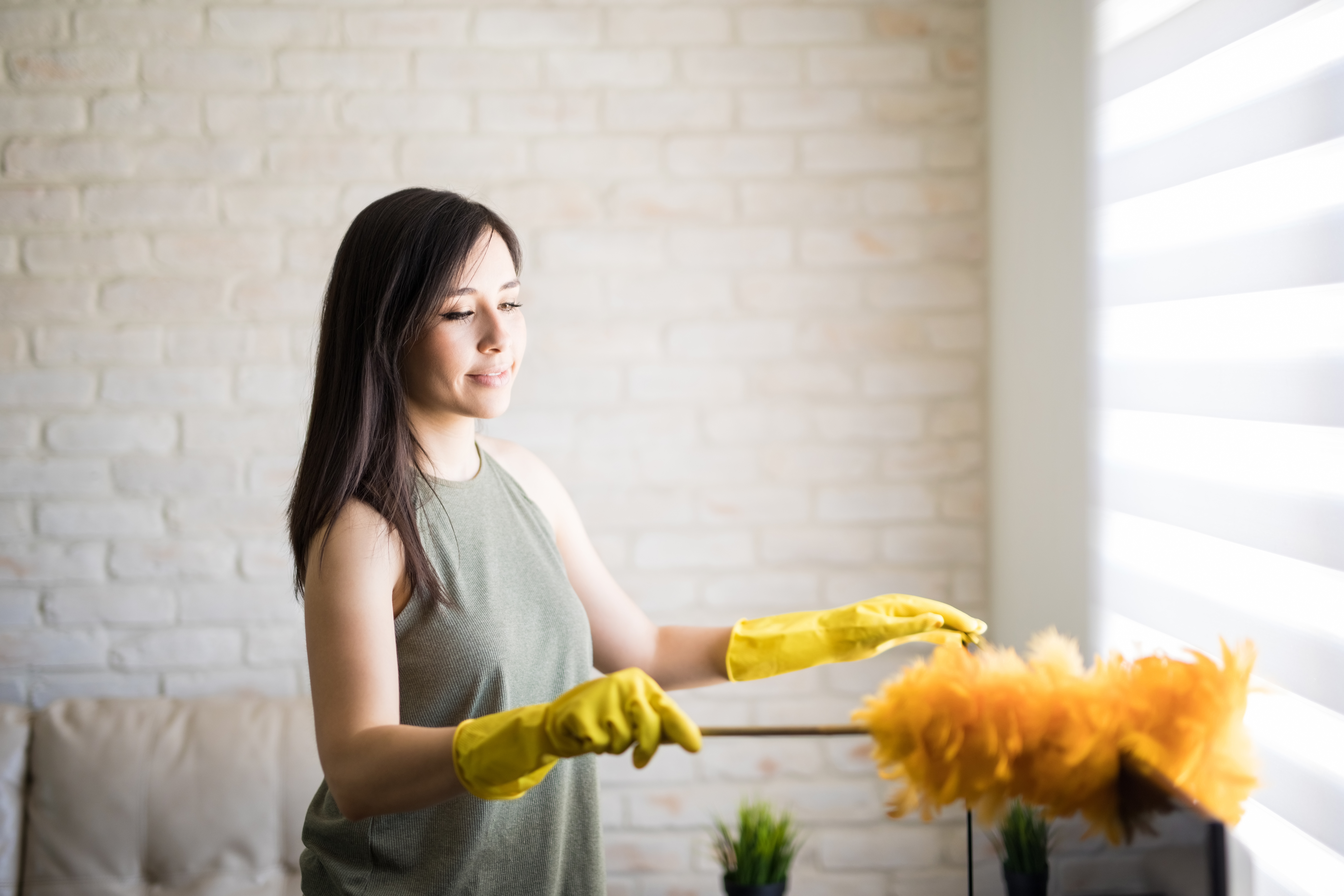 How to Get Rid of Your Dust Problem